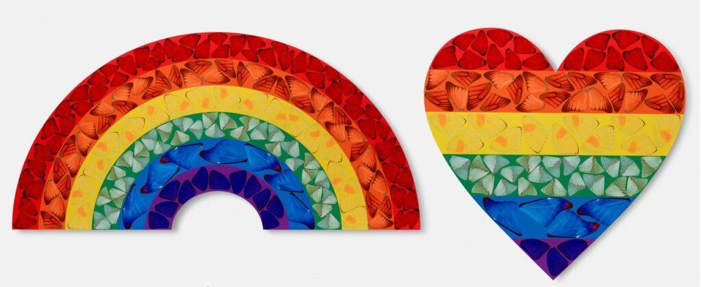 «Butterfly Rainbow» Дем`єн Херст