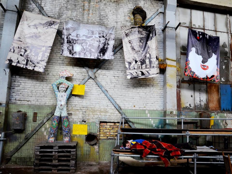 """Фото з виставки """"+/- Луганськ"""" на фестивалі """"Гогольфест"""""""