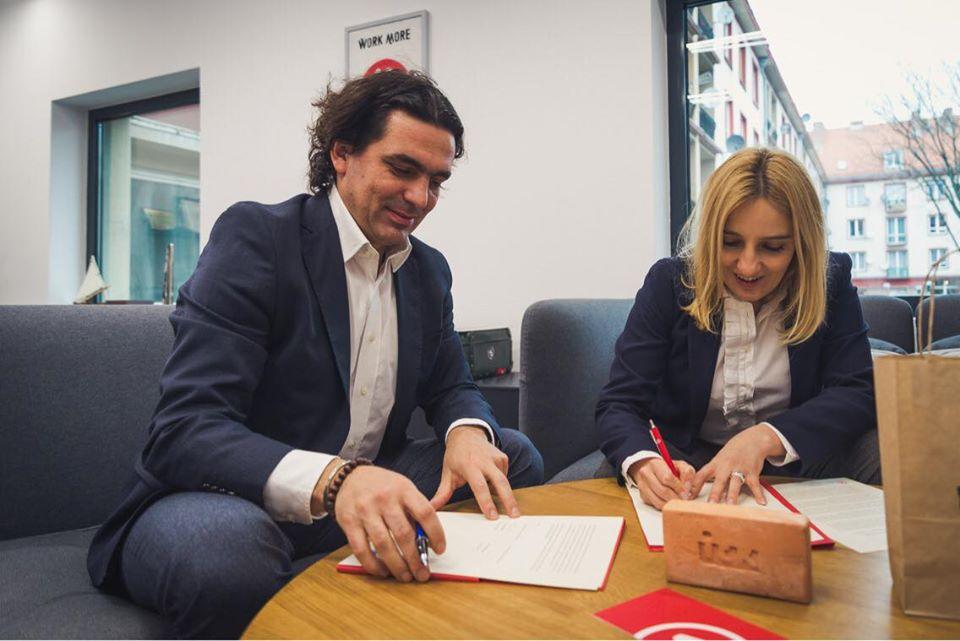 Підписання Меморандуму про співпрацю між ІСК та Strefa Kultury Wrocław, 2019 рік