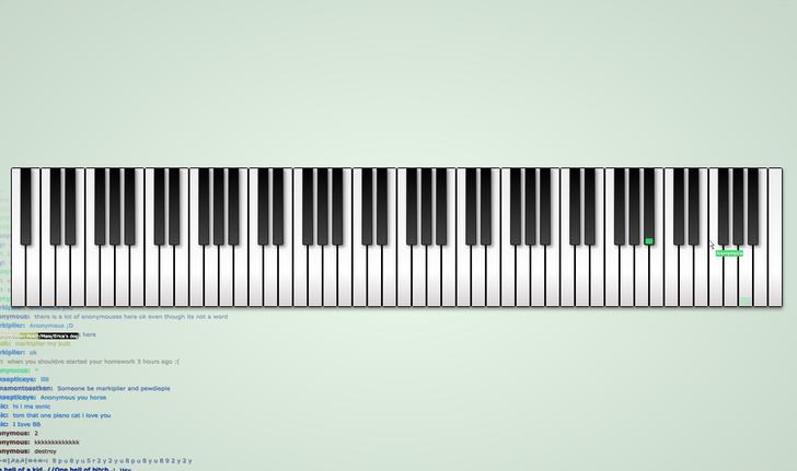 Пограйте на піаніно