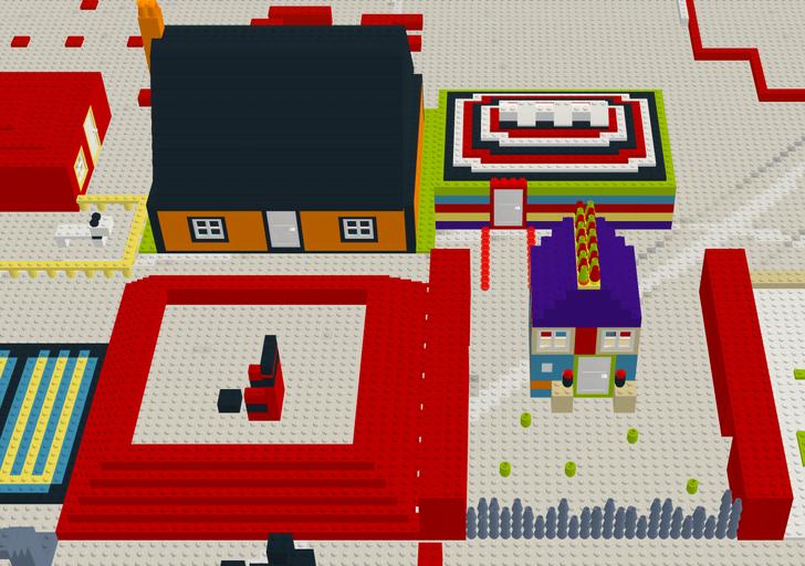 Пограйте в Lego