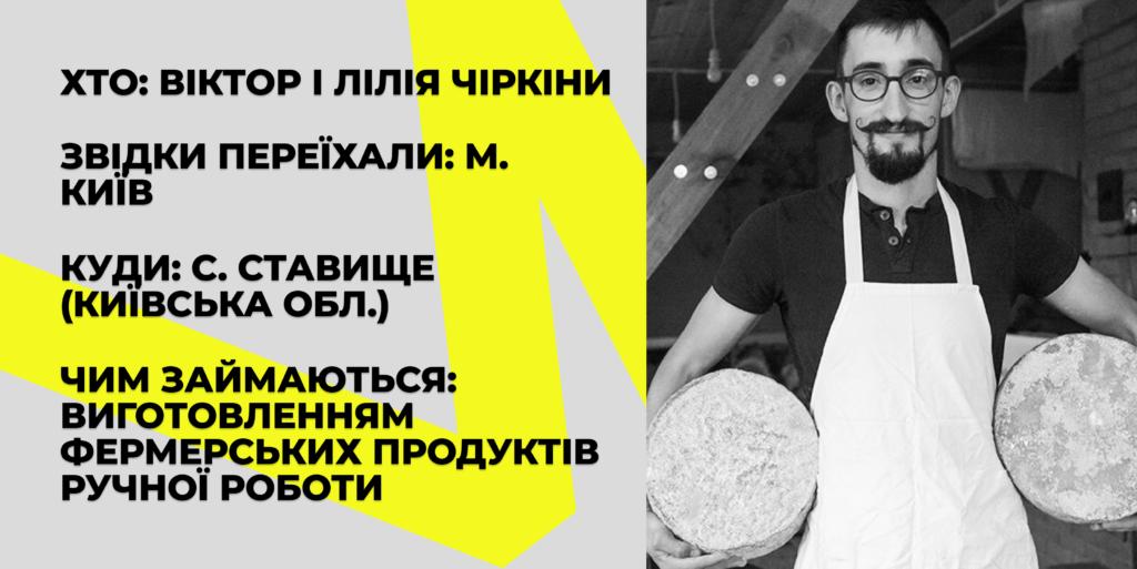 Віктор Чіркін Лісова ферма дауншифтинг
