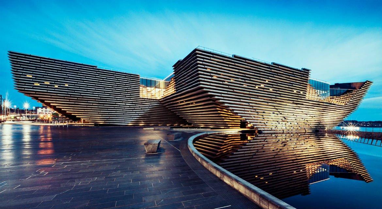V&A Dundee. Музей дизайну місті Данді (Шотландія)