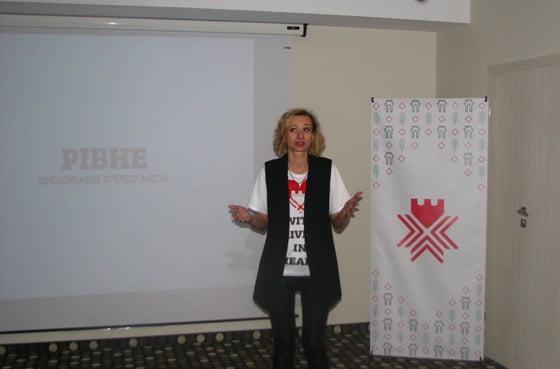 brand city Rivne logo