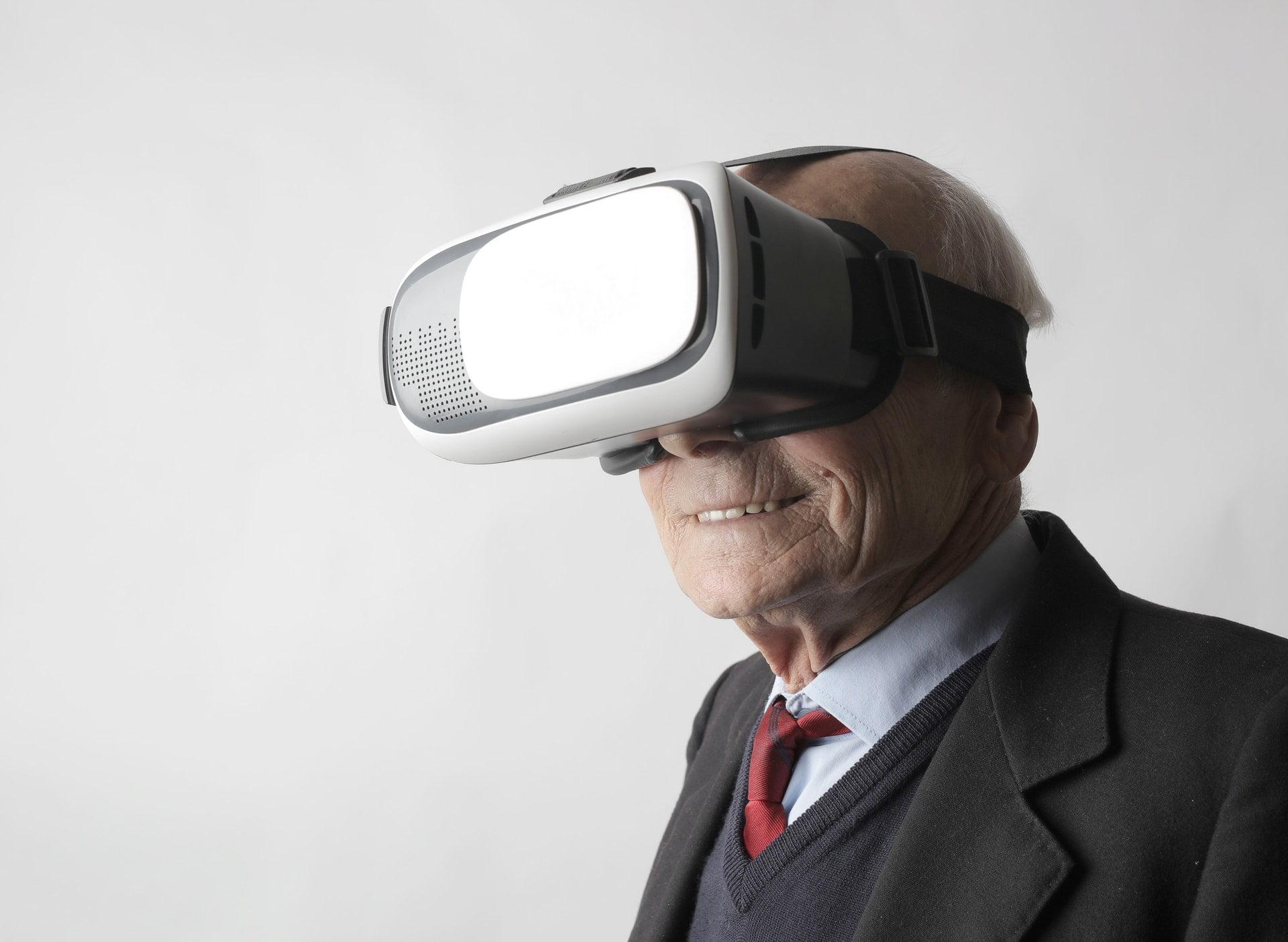 VR віртуальна реальність Джерело: Andrea Piacquadio/Pexels